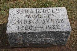Sara Emma <i>Dole</i> Avery