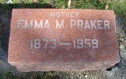 Emma M. <i>Schwartz</i> Praker