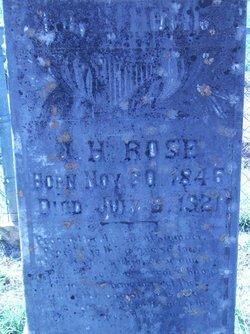 James Hilliard Rose