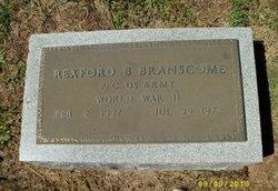 PFC Rexford Boyd Branscome, Sr