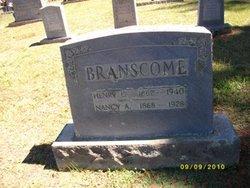 Nancy Alice <i>Phillips</i> Branscome