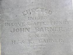 Horatio Barner, Sr