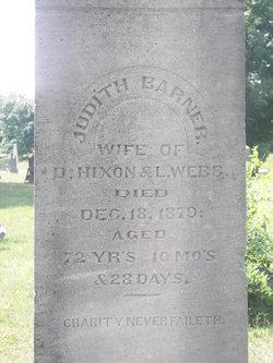 Judith <i>Barner Hixon</i> Webb