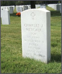 Sgt Maj Charles James Chuck Metcalf