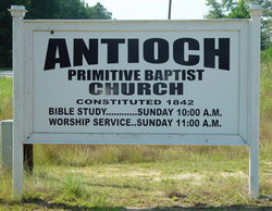 Antioch Primitive Baptist Church Cemetery