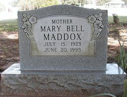 Mary Bell <i>Needham</i> Maddox