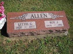 Letta Christmas Lettie <i>Pennington</i> Allen