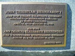 John Christian Bernhardt, I