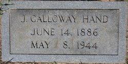 John Galloway Hand