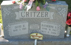 Kathleen Virginia Katherine <i>May</i> Critzer