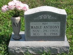 Mable E. <i>Cobbs</i> Anthony