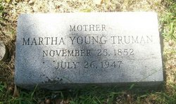 Martha Ellen Mattie <i>Young</i> Truman