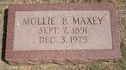 Mollie P <i>Cantrell</i> Maxey