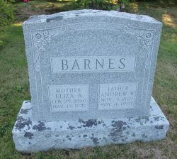 Eliza A <i>McKenney</i> Barnes