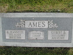 Anna Jeannette Ames