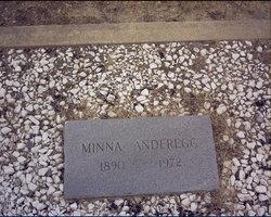 Minna L. <i>Bartling</i> Anderegg