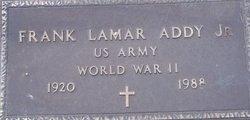 Frank Lamar Addy, Jr