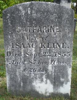 Catharine <i>Barton</i> Kline