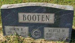 Myrtle Mae <i>Leaverton</i> Booten