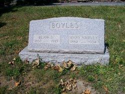 Mary Agnes <i>Harvey</i> Boyles