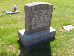 Effie B <i>Harrison</i> Barclay