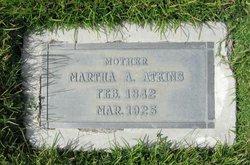 Martha A. <i>Hughes</i> Atkins