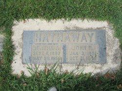 Bertha Agnes <i>Michaelson</i> Hathaway