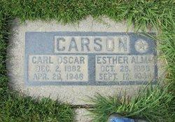 Esther Alma <i>Hathaway</i> Carson