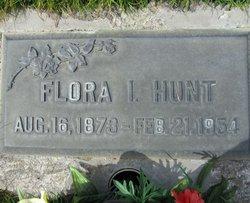 Flora Irene <i>Atkins</i> Hunt
