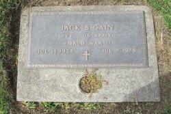 Jack Blackmore Cain