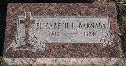 Elizabeth Inez Bessie <i>Boulton</i> Barnaby