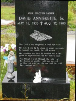 David Anniskette, Sr