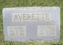 Rosa <i>Hicks</i> Averette