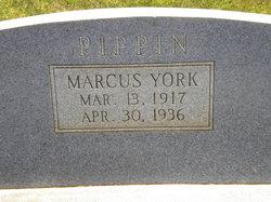 Marcus <i>York</i> Pippin
