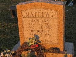 Mary Ann Mathews