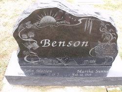 Martha Sunny Benson