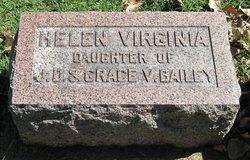 Helen Virginia Bailey