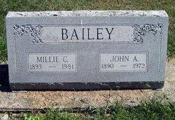 Millie F. <i>Clark</i> Bailey