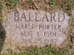 Mable <i>Porter</i> Ballard