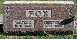 Christine B. <i>Larson</i> Fox