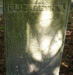 Elizabeth N. <i>Worth</i> Bartlett