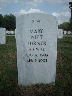 Mary <i>Witt</i> Turner