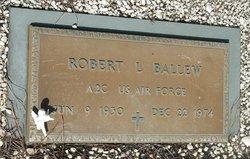 Robert L Bob Ballew