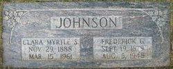 Clara Myrtle <i>Steed</i> Johnson