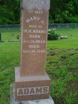 Mary A. <i>Cockrell</i> Adams