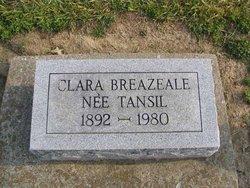 Clara <i>Tansil</i> Breazeale