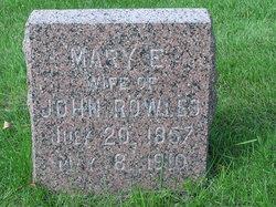 Mary Elizabeth <i>McHugh</i> Rowles