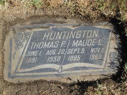 Thomas P Huntington