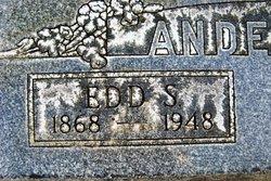 Edgar Sherman Edd Anderson