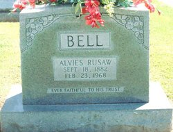 Alvies (Alvin) Rusaw Bell